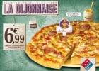 La Dijonnaise chez Domino's Pizza  - Pizza Dijonnaise