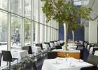 La fin des pourboires au restaurant  - Salle de restaurant : The Modern Nyc