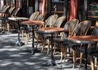 La pause déjeuner : les statistiques  - Terrasse d'une brasserie