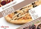La pepper : pizza d'octobre Le Kiosque à Pizzas  - Pizza  La Pepper