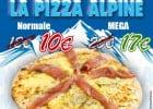La Pizza Alpine Mister Pizza  - Affiche de La Pizza Alpine