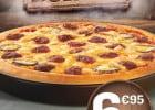 La pizza Burger chez Pizza Hut  - Pizza Burger chez Pizza Hut