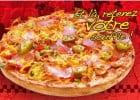 La pizza Pimento de Pizza Time  - La pizza Pimento