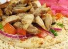La restauration halal  - Kebab en sandwich