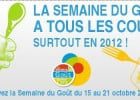La semaine du goût 2012  - Visuel La Semaine du Goût