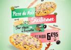 La Sicilienne : la pizza de novembre de Pizza Time  - Pizza La Sicilienne