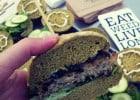 Le burger Detox par Dutch Weed Burger  - Un burger ultra puissant