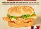 Le Double Wanted chez KFC  - Affiche Double Wanted