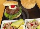 Le fast-food haut de gamme français  - Plateau-repas de restauration rapide