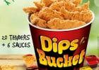 Le Menu Bucket KFC  - Menu Bucket : Dip's Bucket