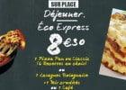 Le menu Eco Express de Pizza Hut  - Les menus Express