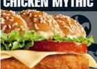 Le mythic est de retour au McDo  - Hamburger Chicken Mythic
