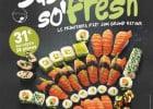 Le printemps chez O'Sushi  - Des recettes de printemps