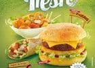 Le printemps s'invite chez Speed Burger  - Déjeuner en toute fraîcheur