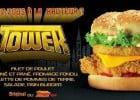 Les burgers démesurés de KFC  - Le burger Tower