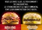 Les champions de Quick  - Strong Bacon et Sweet Emmental