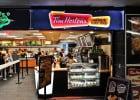 Les fast casual restaurant en France et aux USA  - Point de vente Tim Horton's