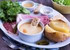 Les fondues chez La Pataterie  - L'assiette fondue Montagnarde