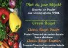 Les formules repas dans les Green is Better  - Menu sur ardoise à Aubagne