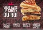 Les galettes et pâtisseries Brioche Dorée  - Galettes du rois
