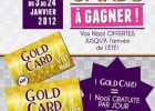Les Gold Cards de Nooï  - Gold Card