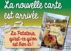 Les gratins à La Pataterie  - nouvelle carte La Pataterie