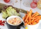 Les menus de fête à La Pataterie  - Cassolette de la mer