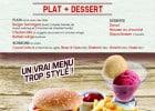 Les menus enfants de Buffalo Grill pour la rentrée  - Un menu spécialement taillé pour les petits