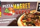 Les nouvelles Pizzas de La Boîte à Pizza  - Pizza Magret Cèpes