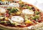 Les plats printemps-été Pizza Paï  - La pizza Primavera