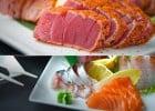Les Sashimis et Tatakis Planet Sushi  - Tataki et sashimi
