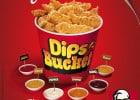 Les sauces Dips de KFC  - Dip's Bucket