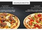Magret et Gorgonzola à la Boite à Pizza  - magret de canard et gorgonzola en pizza