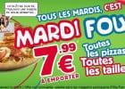 Mardi Fou chez Domino's Pizza  - Mardi Fou