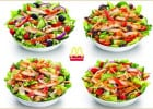 Mc Donald's raffole des salades  - Salades chez McDo