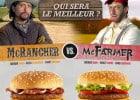 McRancher, McFarmer, McTimber chez Mc Donald's  - McRancher Vs McFarmer