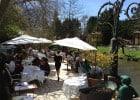 Moulin du Roc : Déjeuner sur la meilleure terrasse de France  - 1er service sur cette terrasse mythique
