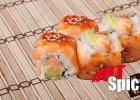 Nina Sushi fait braiser thon et saumon  - Hot Spicy