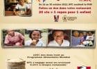 Partenariat PAM et KFC  - Partageons l'espoir