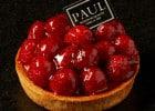 Paul propose des tartes aux fruits de saison  - Tartelette Framboises