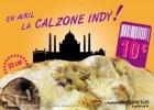 Pizza du mois Pizza Bonici : la Calzone Indy  - La Calzone Indy