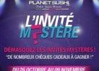Planet Sushi lance un jeu concours sur Facebook  - L'invité Mystère