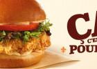 Popeyes Louisiana Kitchen arrive à Montpellier  - Burger au poulet
