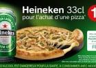 Promotion Heineken chez Pizza Hut  - Promotion Heineken