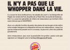 Quand Burger King vient à la rescousse des restaurateurs  - IL N'Y A PAS QUE LE WHOPPER DANS LA VIE