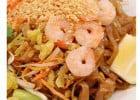 Repas thaïlandais typiques chez Thaï in Box  - Pad Thaï