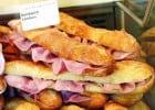 Sandwicherie et boulangerie, la révolution VAE  - Sandwich jambon-fromage