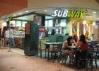 SUBWAY : 1 200 restaurants de plus en France  - Intérieur d'un restaurant Subway