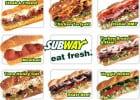 Subway et la gloire  - Les sandwiches Sub de Subway