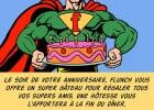 Super Anniversaire avec Flunch  - Super F pour votre anniversaire chez Flunch